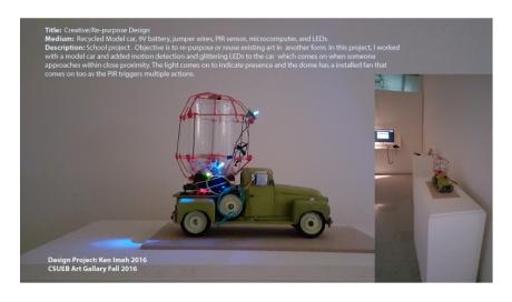 Proximity Sensor-Activated Project