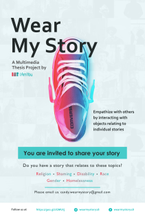 """The """"Wear My Story"""" Poster"""