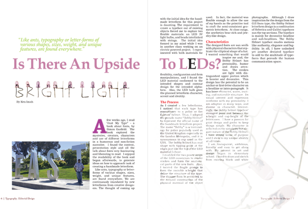 Magazine Layout Sample By KI2016